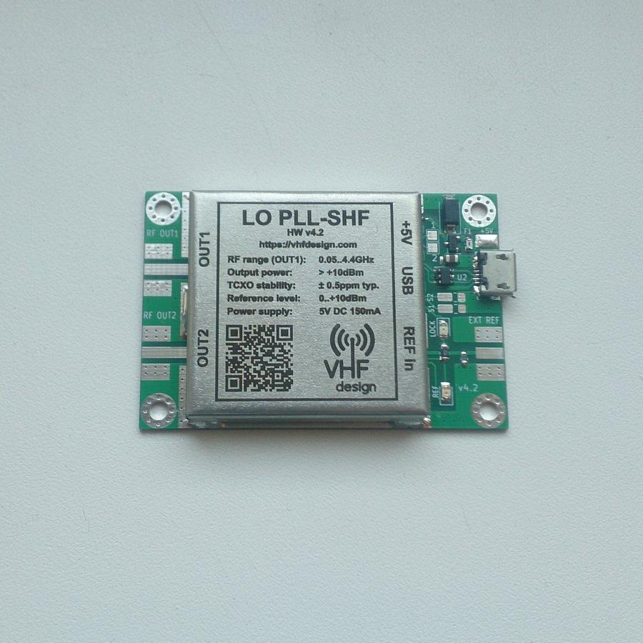 LO PLL USB ADF4351 PCB