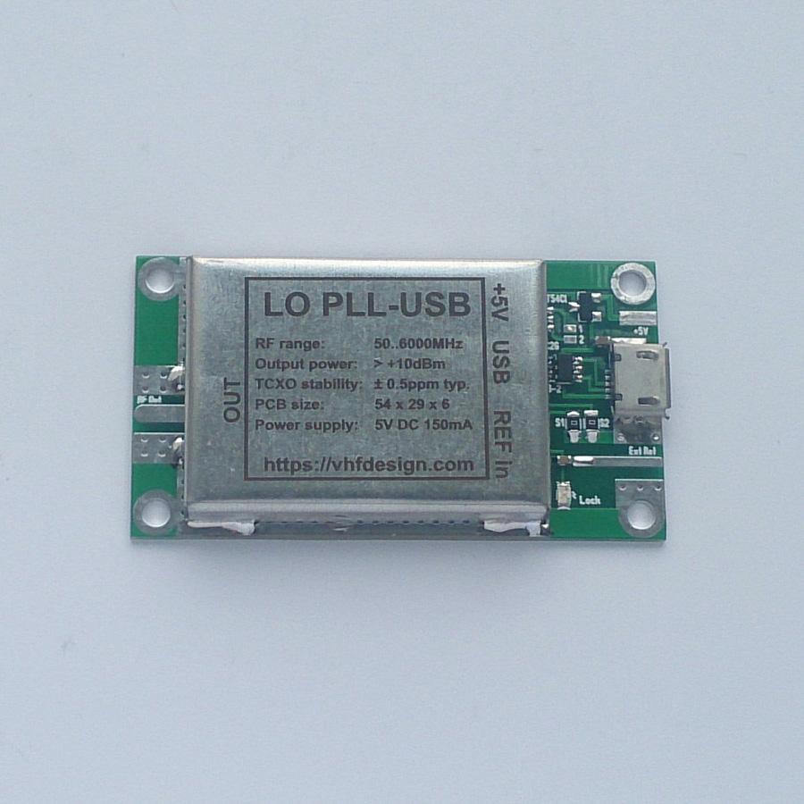 LO PLL USB MAX2871 PCB