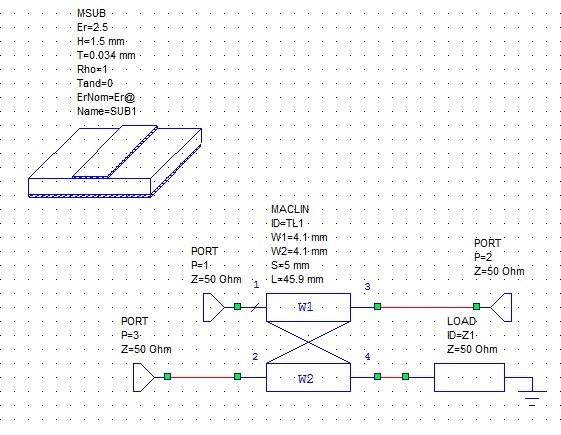 Схема КСВ метра в MWO