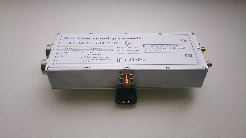 Transverter 6 cm