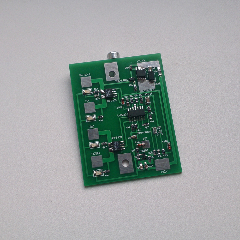 Sequencer PCB for LNA, PA, RF-Relays, Transceiver | VHF Design