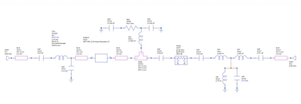 Схема LNA 2m