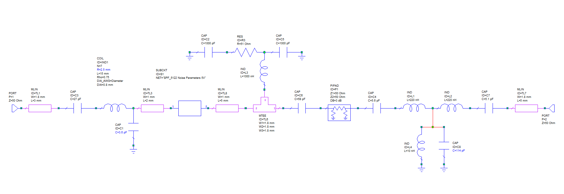 LNAs with built-in bypass relays and RF VOX for 4m 2m 1 25m
