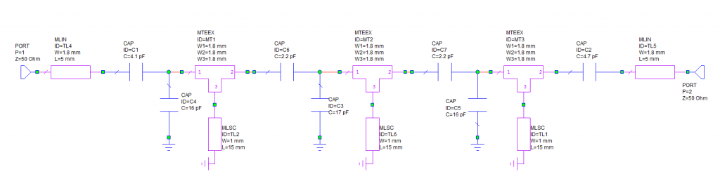 LNA 2m RF VOX filter schematics