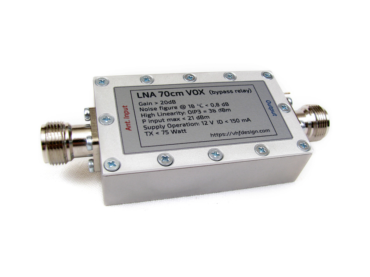 LNA 70cm VOX N-female