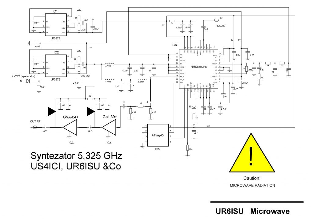 Syntezator 5325 MHz