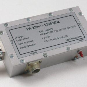 PA 23cm 150W front view (w/o radiator)