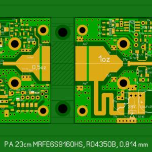 Печатная плата PA-23cm-150W