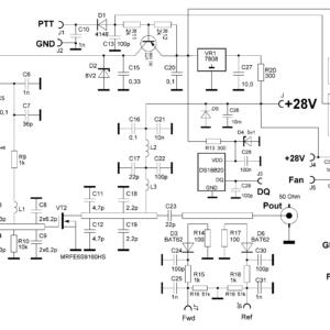 PA 23cm 150W schematics