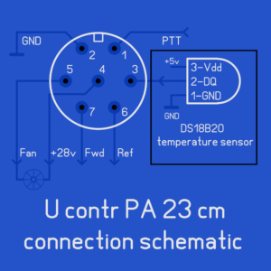 7-pin connector pin assignment