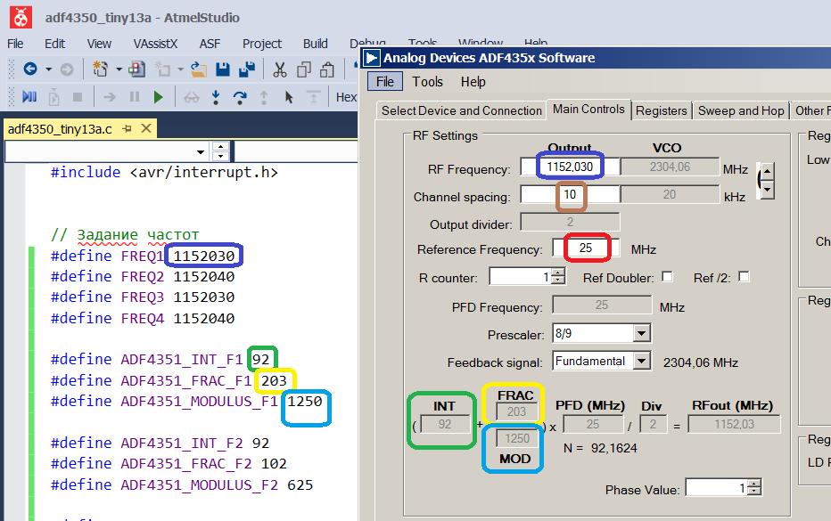 LO PLL ADF4350 – VHFDesign