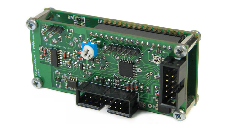 PA controller mainboard back view
