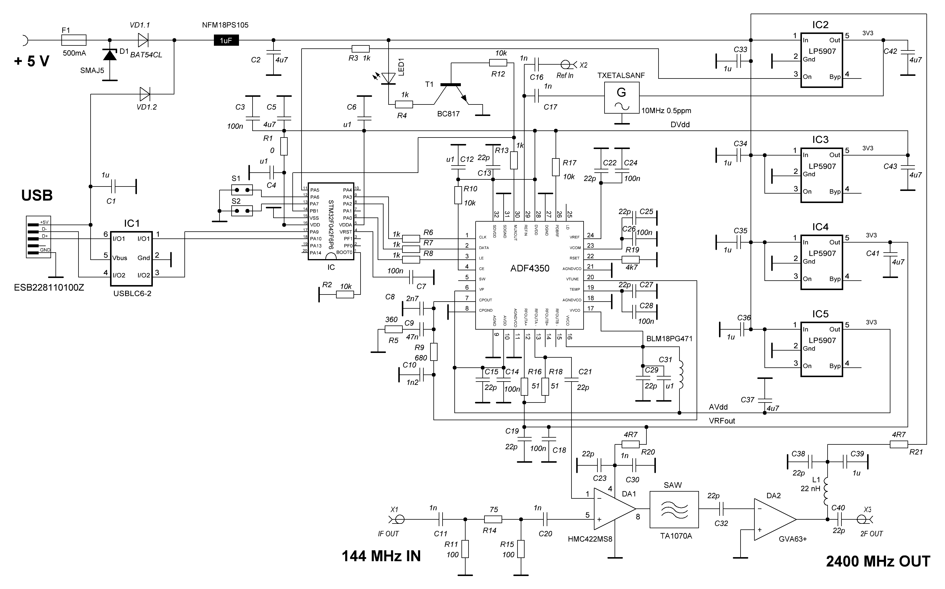 Converter-13cm schematics from 2019-12-30