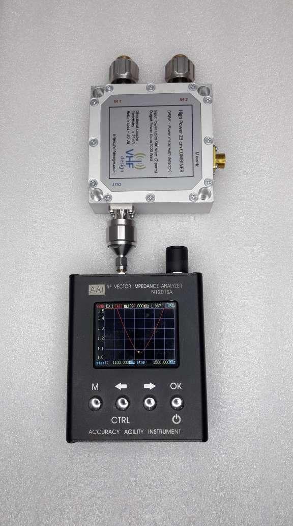 PA combiner SWR measurements