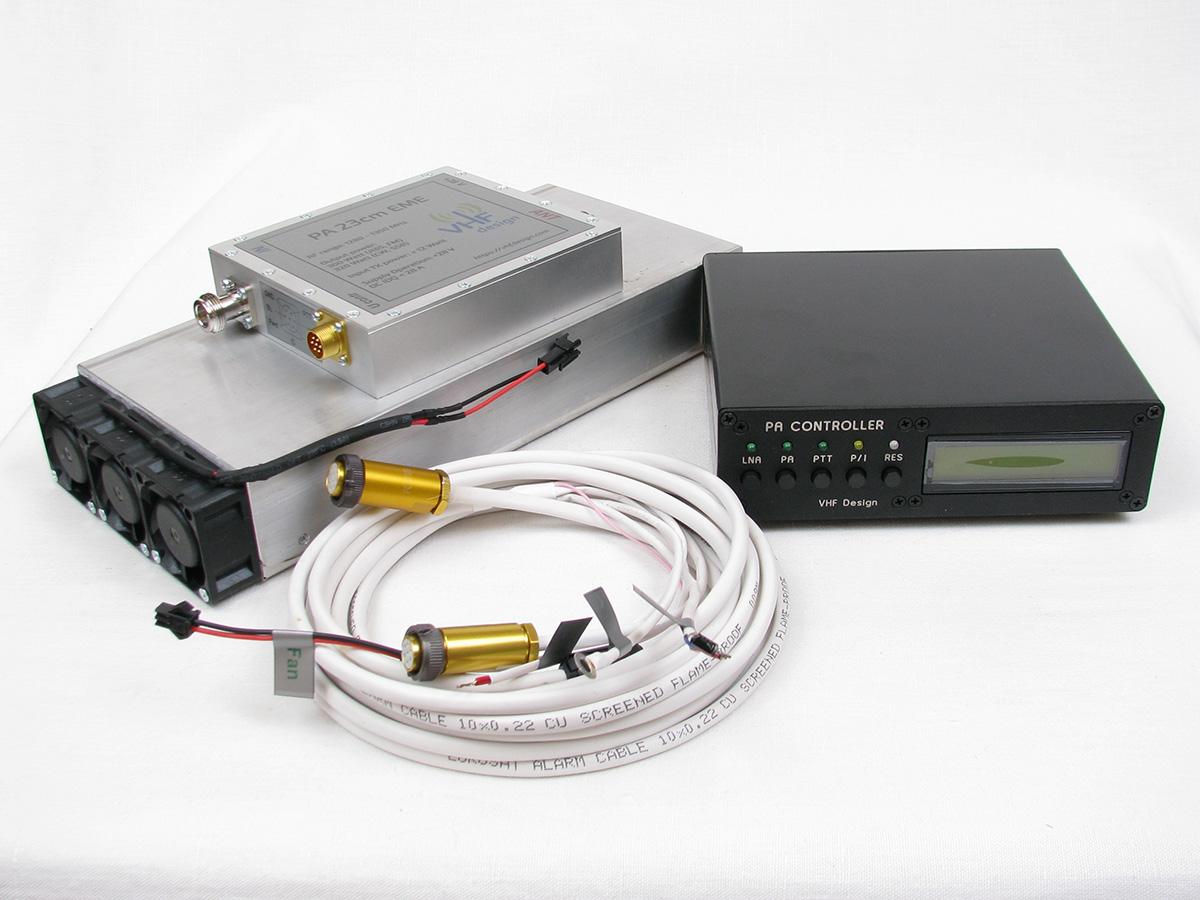 PA 23cm 300 Watt pallet with controller and heatsink